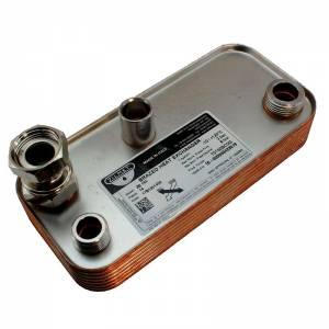 Теплообменник Hermann Micra 2, Supermicra 14 пластин 17B1951400