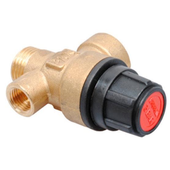 """Клапан предохранительный (сбросной) Ariston MicroSystem / T2 / TX, 1/4"""" 3 бар (998447)"""
