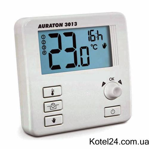 Программируемый комнатный термостат Auraton 3013