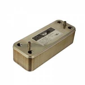 Теплообменник Baxi ГВС 20 пластинчатый 17B2072000