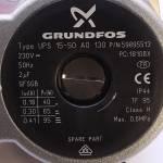 Насос Grundfos UPS 15-50 95w