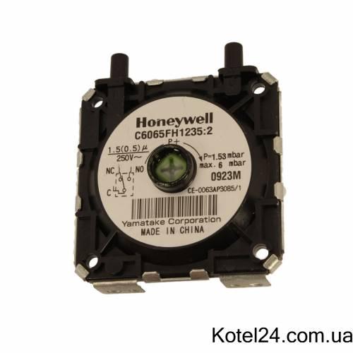 Прессостат Honeywell C6065 FH1235:2 1,53 mbar max 6 mbar