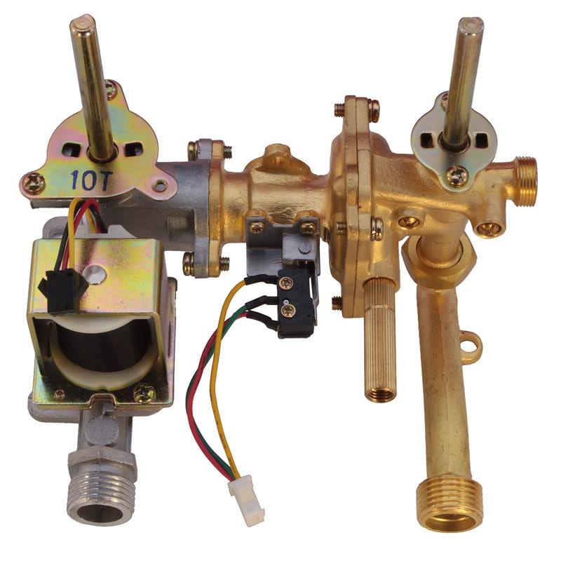 Редуктор газовой китайской колонки протоком 10-12 L
