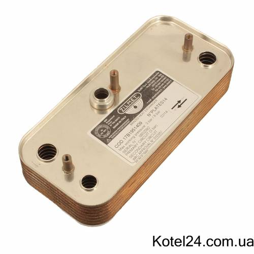 Теплообменник 14 пластинчатый Sime Format Zip BF 17B1951409