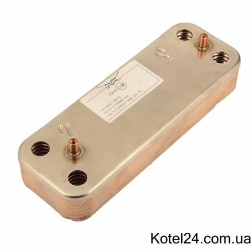 Теплообменник Baxi ГВС 12 пластинчатый 5686670