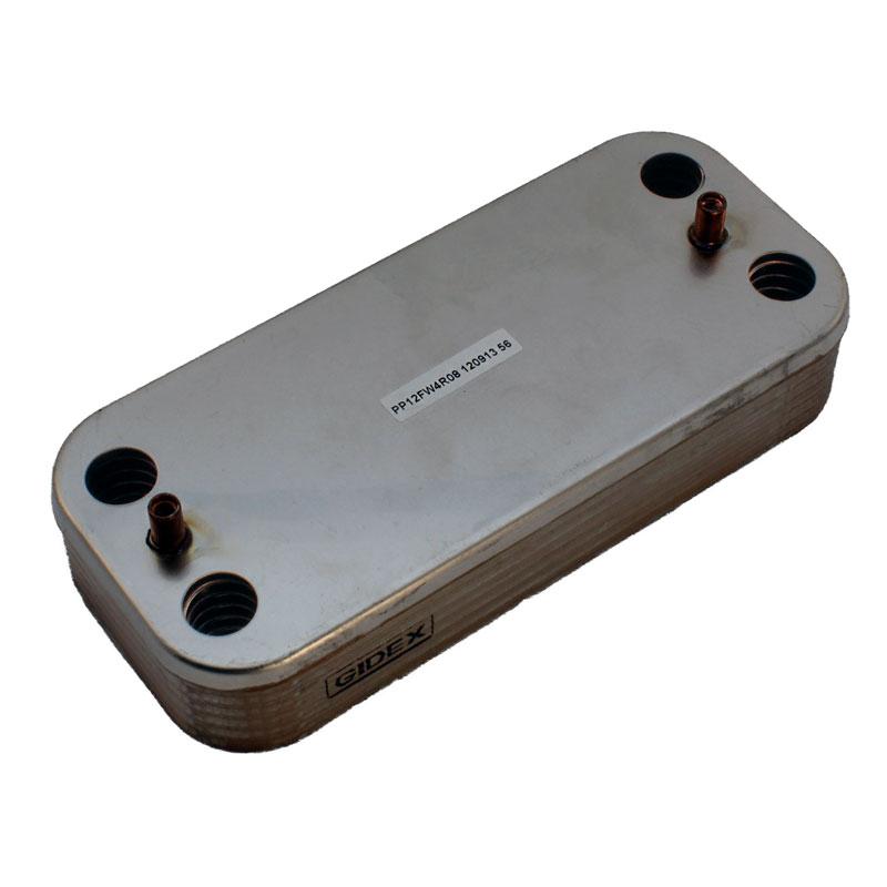 Tеплообменник Buderus 12 пластин Logamax U002,U004,U102,U104