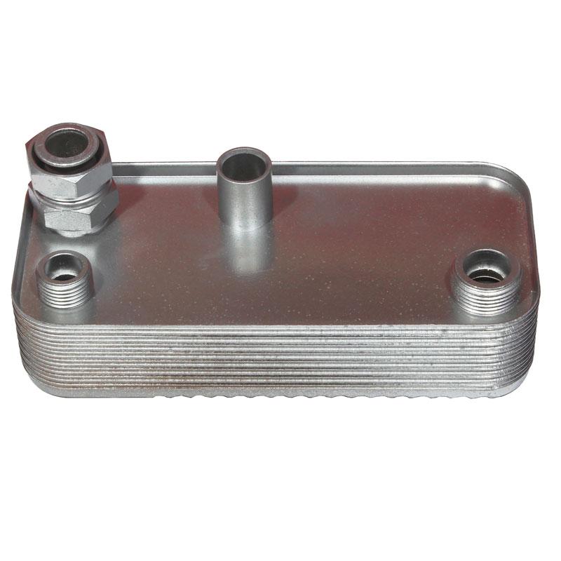Теплообменник ГВС Hermann Micra 2 - 16 пластин (17B1951600, 15003389)