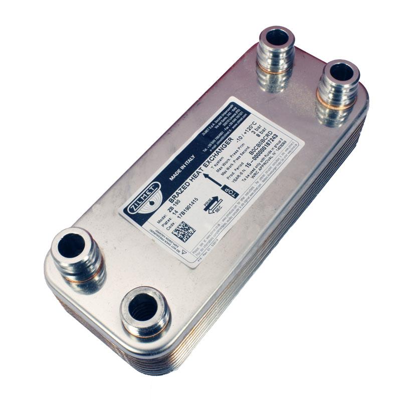 Теплообменник Vaillant Pro/Plus 14 пластинчатый 17B1901415