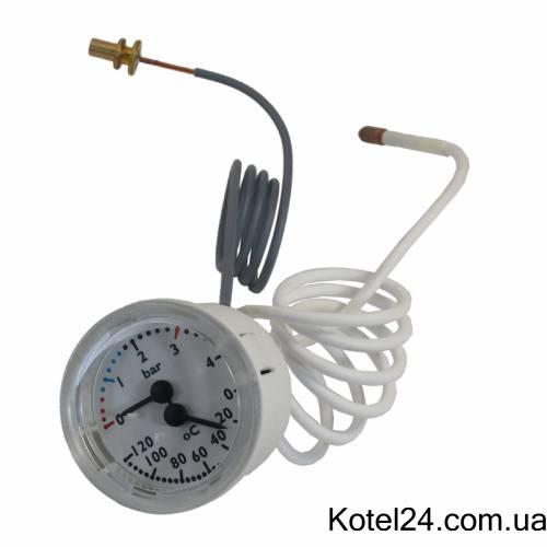 Термоманометр котла Ariston UNO 65100757