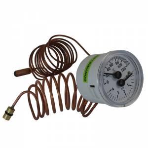 Термоманометр Vaillant Max Pro-Plus с зелеными ручками 101270