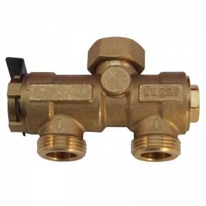 Трехходовой клапан Fugas для подключения бойлера косвенного нагрева 15AS50
