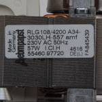 Вентилятор (турбина) котла Baxi, Westen, Roca 5682150