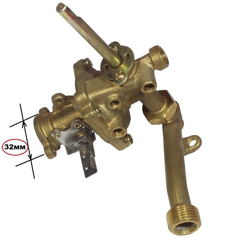 Водный редуктор китайской газовой колонки - 32 (резьба)