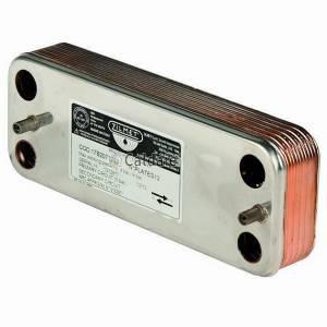Теплообменник вторичный для газового котла Ariston 17B1901200